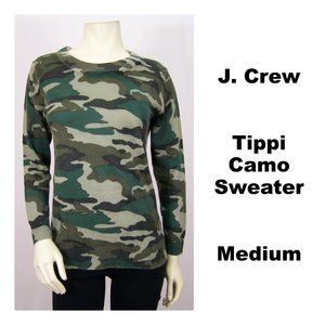 J. Crew Tippi Camo Sweater Vintage Surplus
